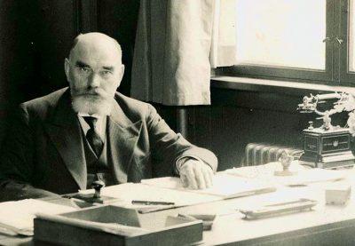 Borgmester H.P.Christensen var den drivende kraft i kampen for et nyt og moderne rådhus